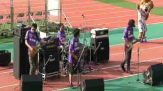 2010.8.1 京都サンガ戦での藤島によるサンフレッチェアンセム演奏と試合...