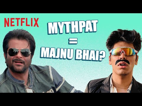 Can @Mythpat Beat Majnu Bhai In Painting?   Welcome   Netflix India