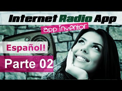Radio App en MIT app Inventor Tutorial en Español part 02
