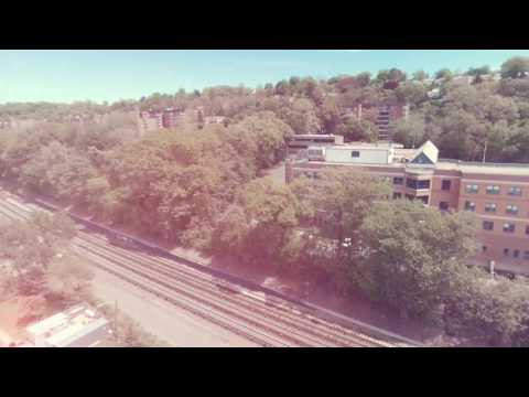 Yonkers Waterfront drone