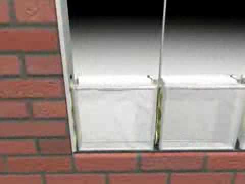 Building glass block windows