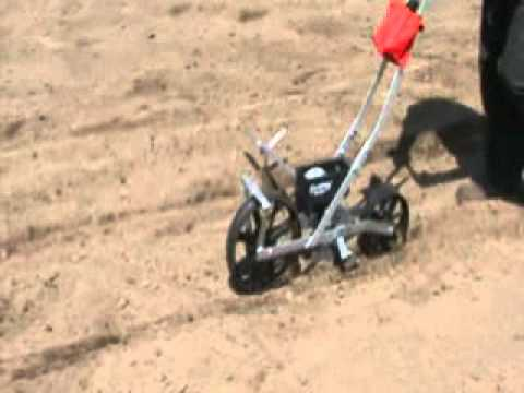 EarthWay Precision Garden Seeder Model 1001B YouTube