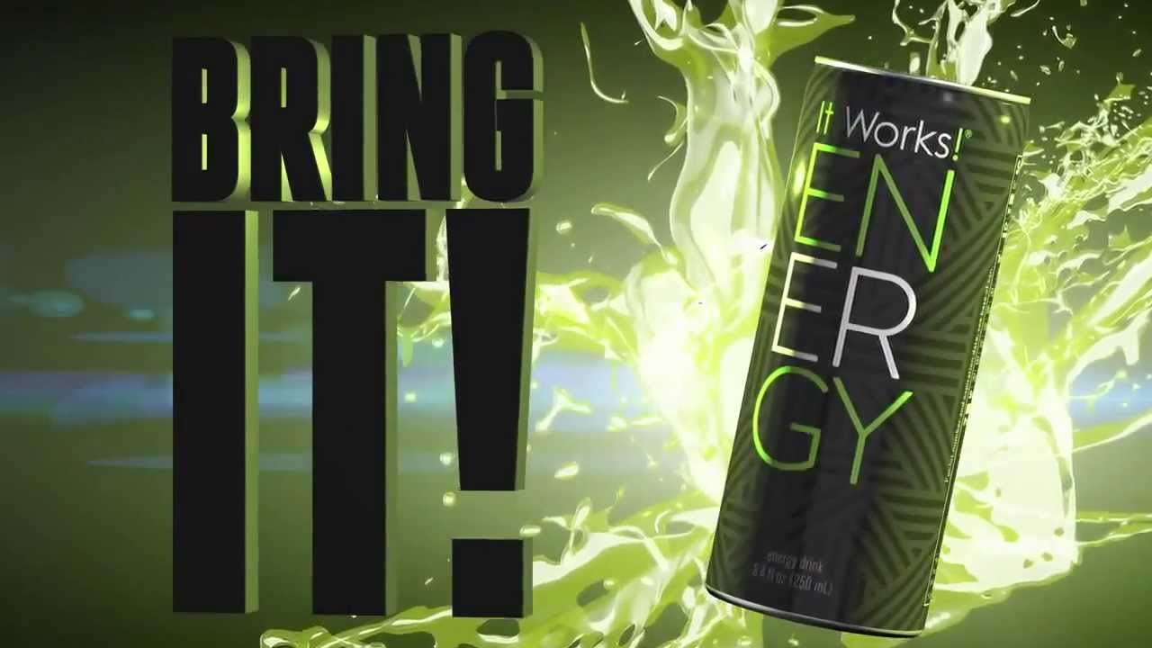 The new energy drink from it works global youtube for It works global photos