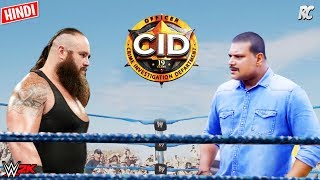 Download lagu New CID Daya vs Braun Strowman - CID New Episode Hindi 2019 - CID Hindi Comedy WWE 2K