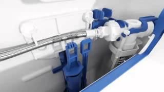 видео Ремонт инсталляции для унитаза