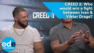 CREED 2: Who would win a fight between Ivan & Viktor Drago?
