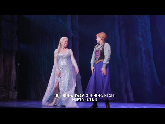 FROZEN Pre-Broadway Opening Night - Denver 9.14.2017