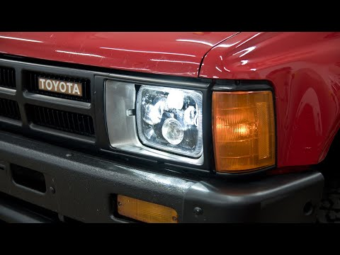 How to: Install Toyota Pickup Truck LED Headlights – 4Runner & Tacoma too!