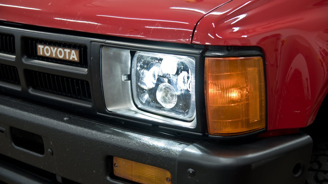 How To Install Toyota Pickup Truck Led Headlights 4runner Tacoma Too Youtube