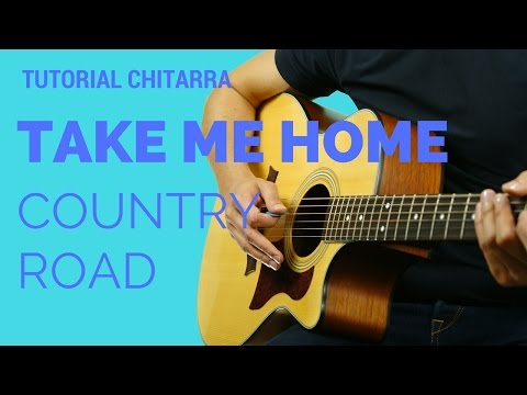 CANZONI FACILI | Take Me Home, Country Road - John Denver | Tutorial Accordi