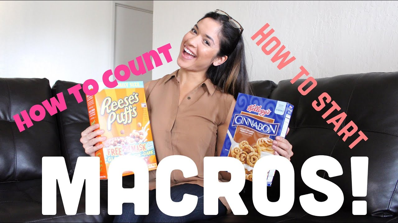 How to count macros how to lose weight with macros finding youtube premium ccuart Gallery