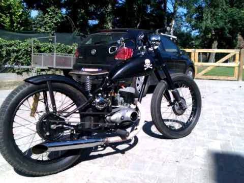 dkw bobber 1953 youtube. Black Bedroom Furniture Sets. Home Design Ideas