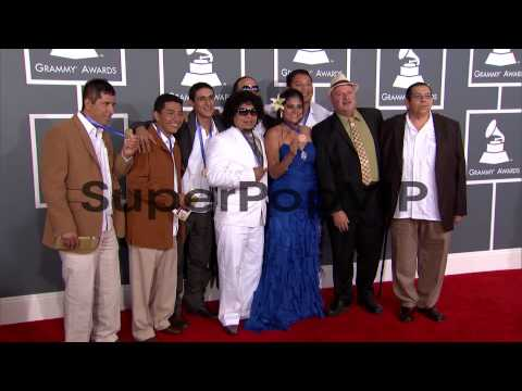 Los Cojolites at The 55th Annual GRAMMY Awards - Arrivals...