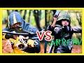 Assassin's Creed vs Green Arrow in Real Life   Parkour, Flips & Kicks