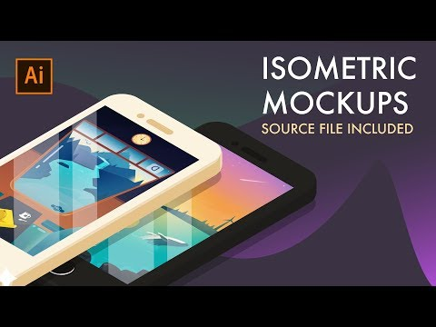 Create Isometric Objects using the 3D effects in Adobe Illustrator thumbnail