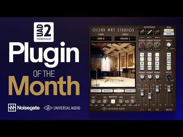 UAD-2 Plugin of the Month: Ocean Way Studios [room modeling plug‑in]
