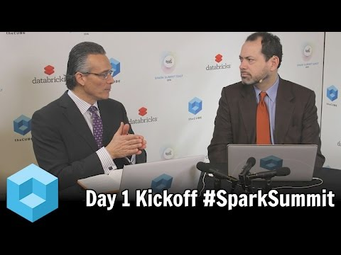 Kickoff Day 1 – Spark Summit East 2016 – #SparkSummit – theCUBE