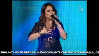 "Isabel Abensur canta ""I will always love you"" 