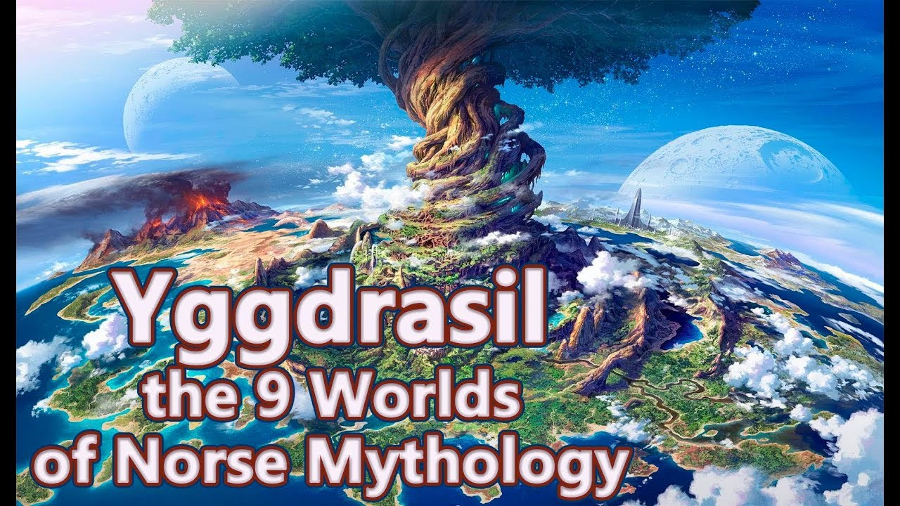 meilleure sélection 933fc 33f00 Yggdrasil: The Tree of Life and the 9 Worlds of Norse Mythology - See U in  History