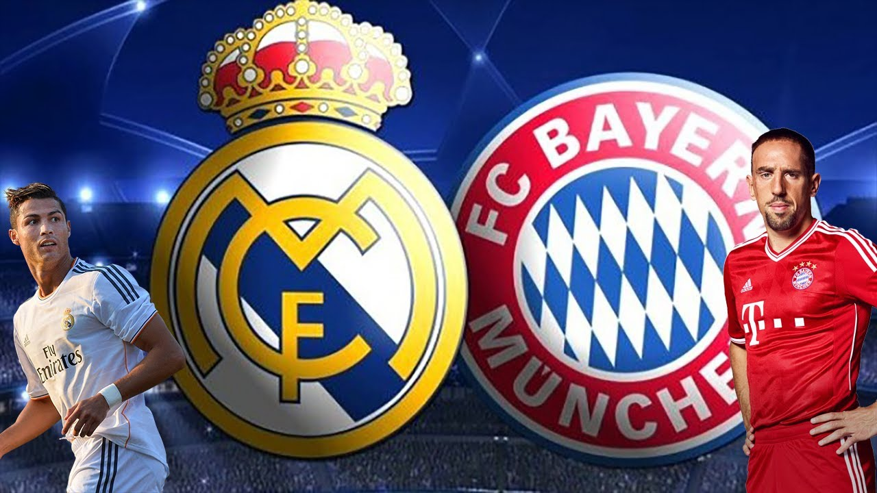 FC Bayern Munich vs. Real Madrid | Promo | Semifinals • 23 ...