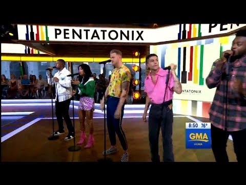 Attention - Pentatonix perform 'Attention' on Live GMA (HD)