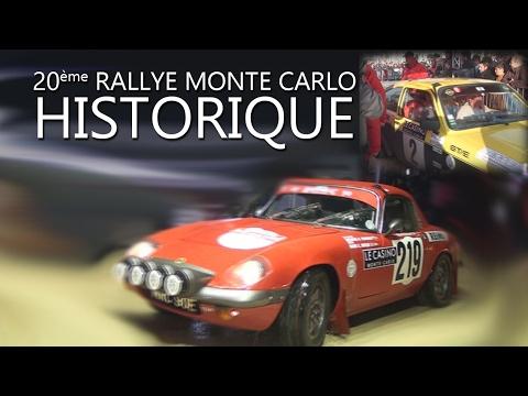 Actu'Sport Le Rallye Monte Carlo Historique 2017