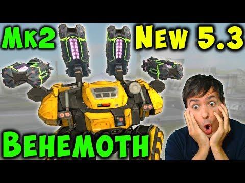 NEW 53 Update Robot BEHEMOTH GLORY Mk2 Freakshow Gameplay WR