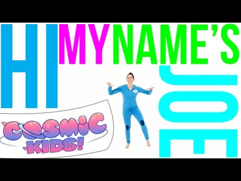 Hi My Name's Joe | Cosmic Kids yoga disco