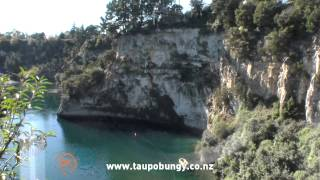 Bungee jumping Taupo New zeland