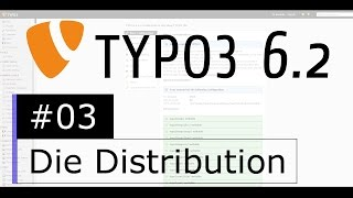Tutorial: TYPO3 6.2 - Die Distribution