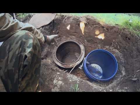 видео: Дачный туалет своими руками. Система сообщающихся сосудов. Любимый сад