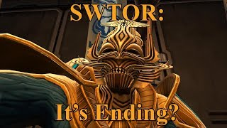 SWTOR The Game Is Ending