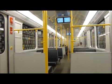 U8 Wittenau-Lindauer Allee Mitfahrt F74E (U-Bahn Berlin)