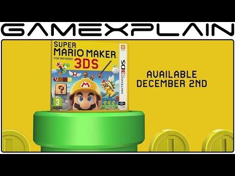 Super Mario Maker 3DS - Online & Offline Play Modes Trailer