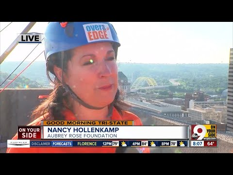 Rappel for a Reason benefits Aubrey Rose Foundation