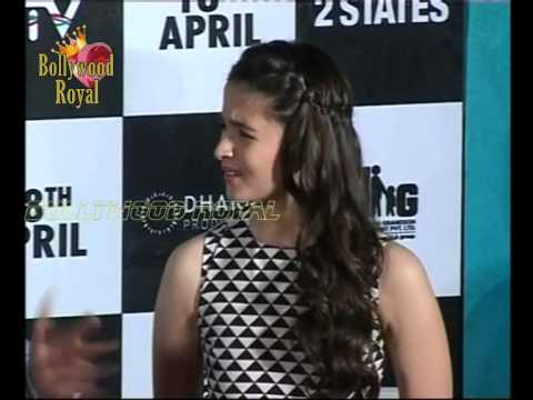 Trailer launch of the film '2 States' 3