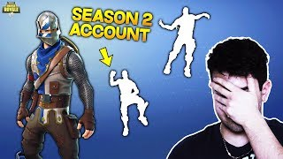J'ai un SEASON 2 ACCOUNT sans le savoir... Fortnite [ANGLETERRE]