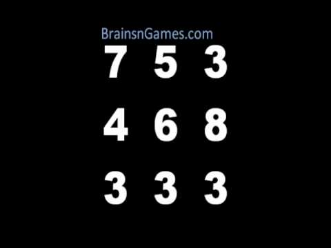Math Brain Game - Take on the Number Box!