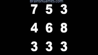 Math Brain Game - Take On The Number Box! Free Streaming