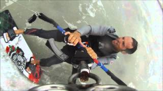 Kiteboarding Downwinder - Sand Key to Indian Rocks Beach