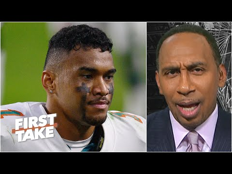 Stephen A. has faith in Tua Tagovailoa, but tells the Dolphins to draft weapons | First Take