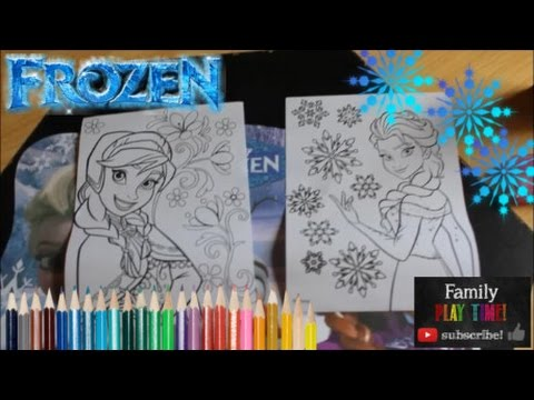 New Frozen Coloring Pages : Disney frozen coloring pages elsa and anna coloring fun stamp