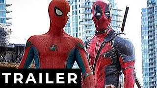 DEADPOOL 3: Spider-Man (2021) Trailer Concept (HD)