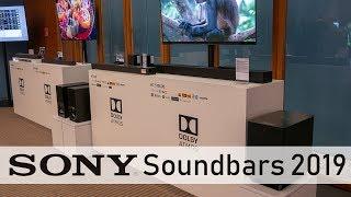 SONY Soundbars mit DTS:X und Dolby Atmos 2019 (4K / 60p)