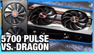 Sapphire Pulse vs. Red Dragon RX 5700 Review: Non-XT Thermals & Noise