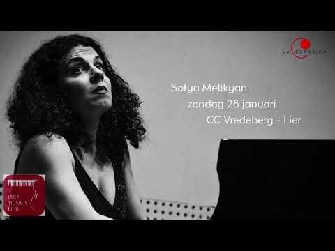 Pro musica lier - aperitiefconcert Sofya Melikyan - 28 januari 2018