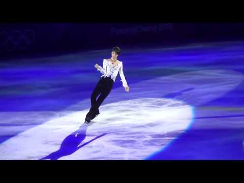 "YUZURU HANYU 2018pyeongchangOlympicsGALA— ""Notte Stellata"" +Champion Talk .focused fancam from YouTube · Duration:  7 minutes 23 seconds"