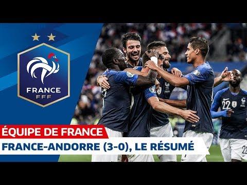 France Andorre (3-0), le résumé I Équipe de France 2019