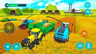 US Tractor Farming Offroad Simulator 2019 🚜 - Android GamePlay - Farming Simulator Games Android