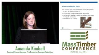 Fire Safety Challenges of Tall Wood Buildings - Amanda Kimball